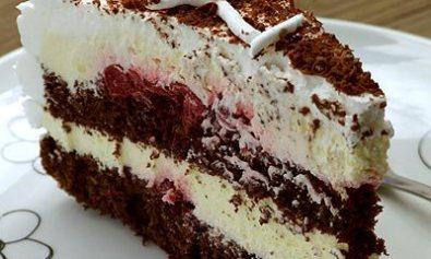 Čokoladna torta sa višnjama