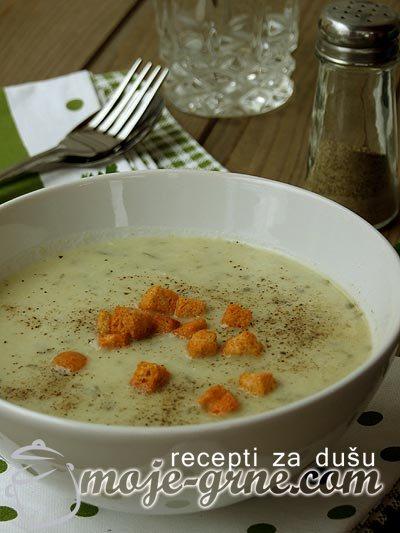 Krem supa od praziluka