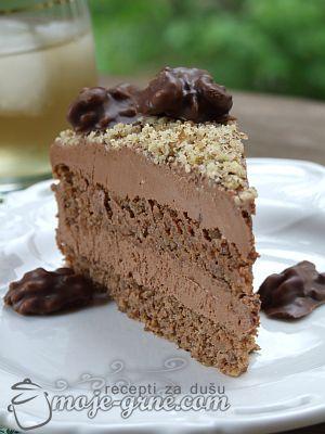 torta od oraha i cokolade