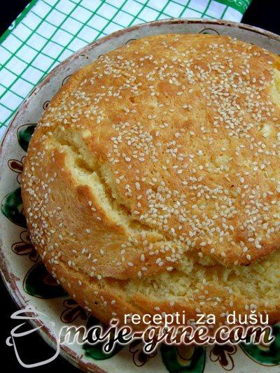 Makedonska pogača sa ovčjim sirom