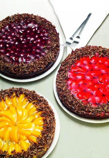 Cokoladni vocni kolac Dr. Oetker