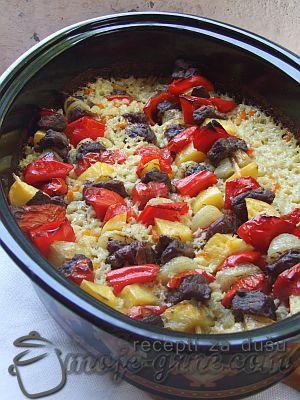 raznjici sa junetinom i povrcem