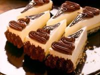 Crno-beli cokoladni trouglovi
