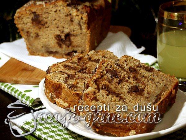 Limunasti kolač od banana sa maslinovim uljem