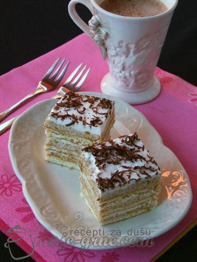 Krem kolac sa keksom