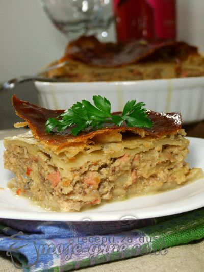 Turska torta od mlevenog mesa