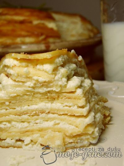 Slana torta sa palačinkama