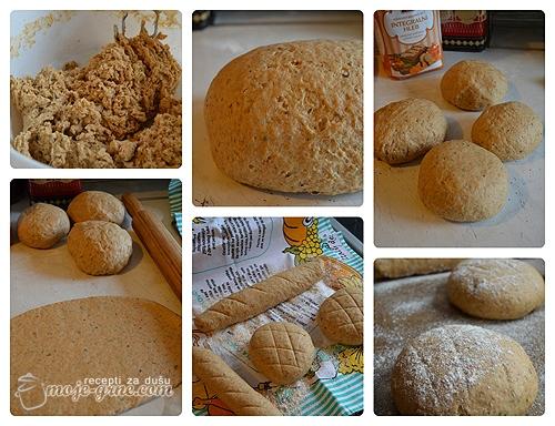 Hleb sa zacinskim biljem i belim lukom