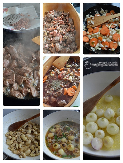 Boeuf Bourguignon à la Julia Child