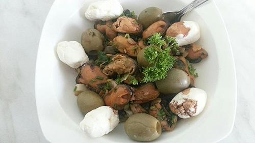 Salata od dagnji