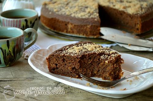 Torta Monferina s bundevom i amarettima