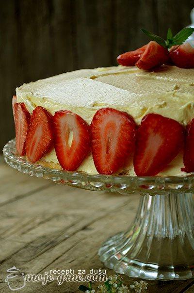 Bakina sladoled torta