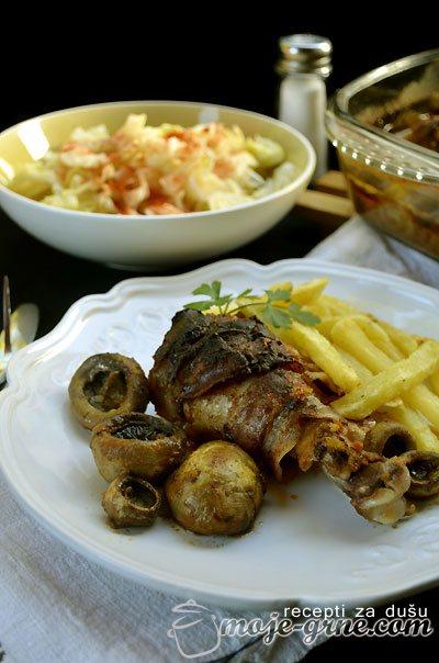 """Rolovani bataci u marinadi - """"Vegeta"""" mariniranje"""