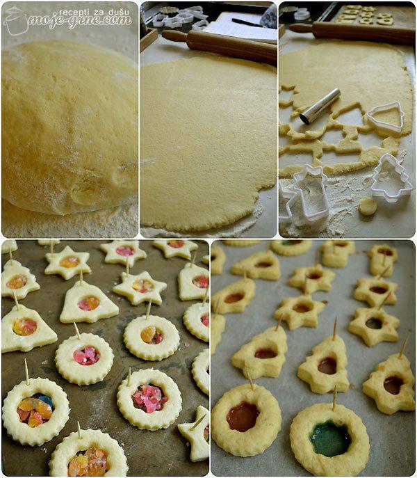 Stakleni kolačići - Stained Glass Cookies