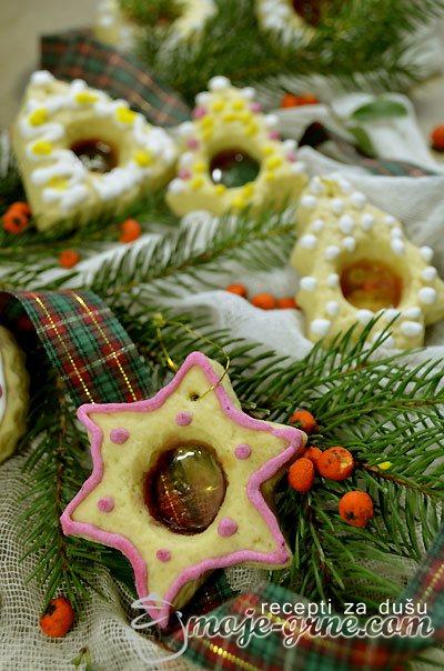 Stakleni vitraž kolačići - Stained Glass Cookies