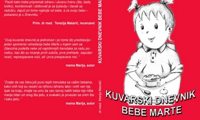 """Kuvarski dnevnik bebe Marte"" - recepti i malo darivanje"