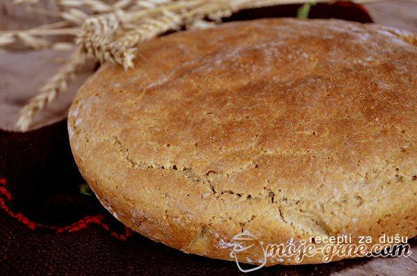 Pogača od ovsenog i raženog brašna