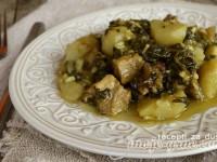 Čičoka sa zeljem i svinjetinom