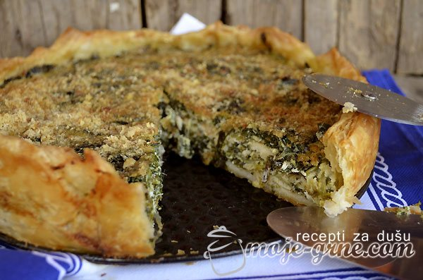 Pita od sardela sa zelenišem