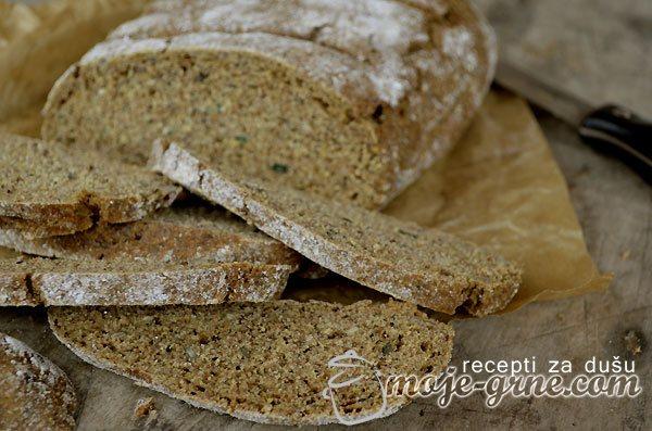 Beskvasni hleb sa semenkama