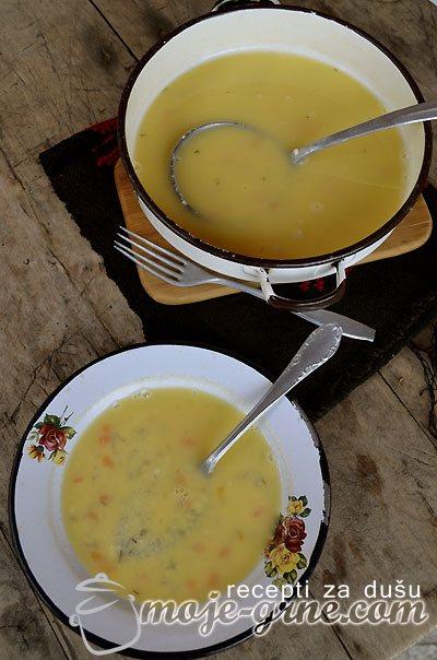 Supa - čorba od sira