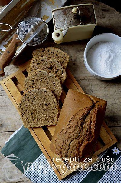 Kafeni slatki hleb