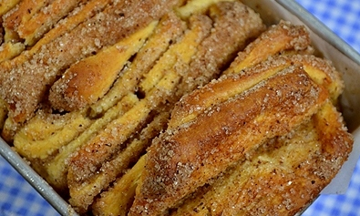 Strast sa šećerom i cimetom – Cinnamon Sugar Pull-Apart Bread