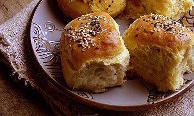 Filled Butter Dinner Buns   Slane buhtle