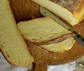 Hleb sa krompirom i sirom