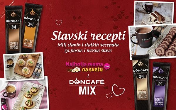 MIX slanih i slatkih recepata za posne i mrsne slave