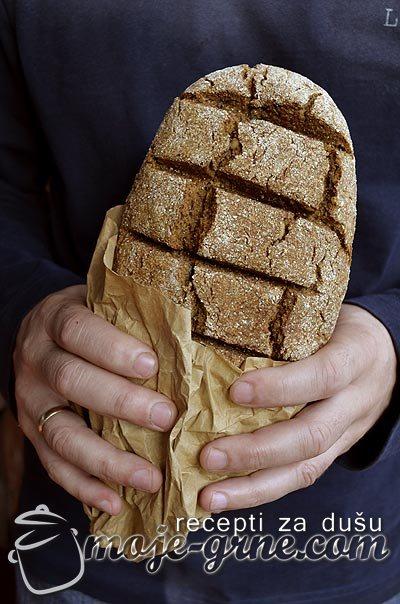 Raženi bezkvasni hleb
