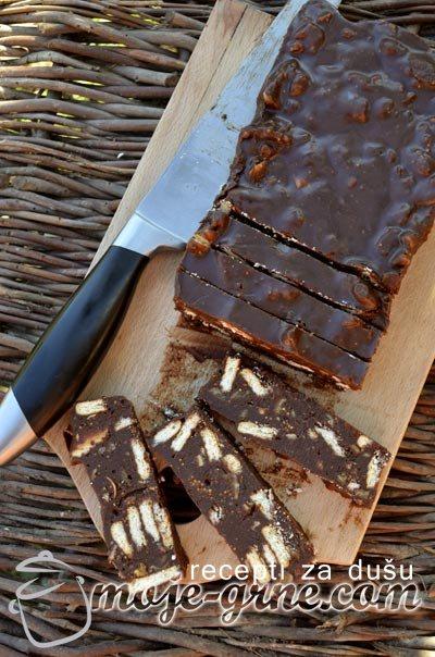Čokoladne štanglice sa smokvama