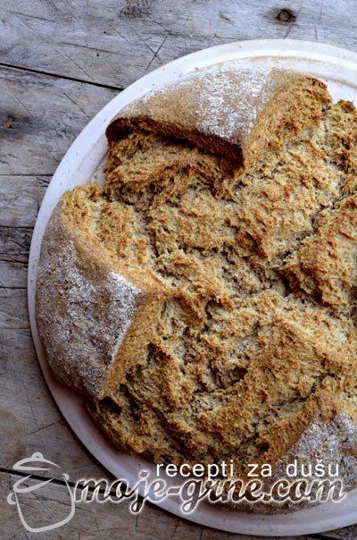 Integralno - raženi hleb