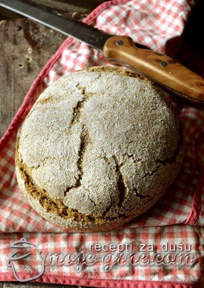 Hleb sa kefir kvascem