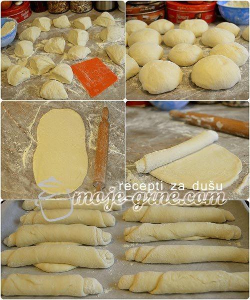 Posne pekarske kifle