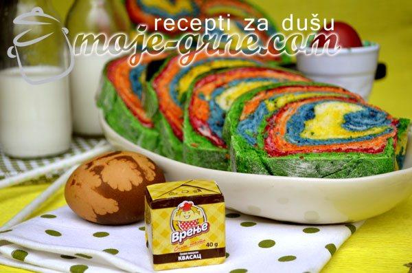 Duga hleb - Rainbow Bread