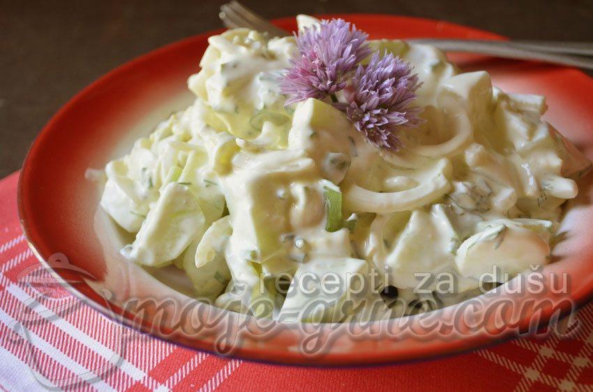 Osvežavajuća jogurt salata
