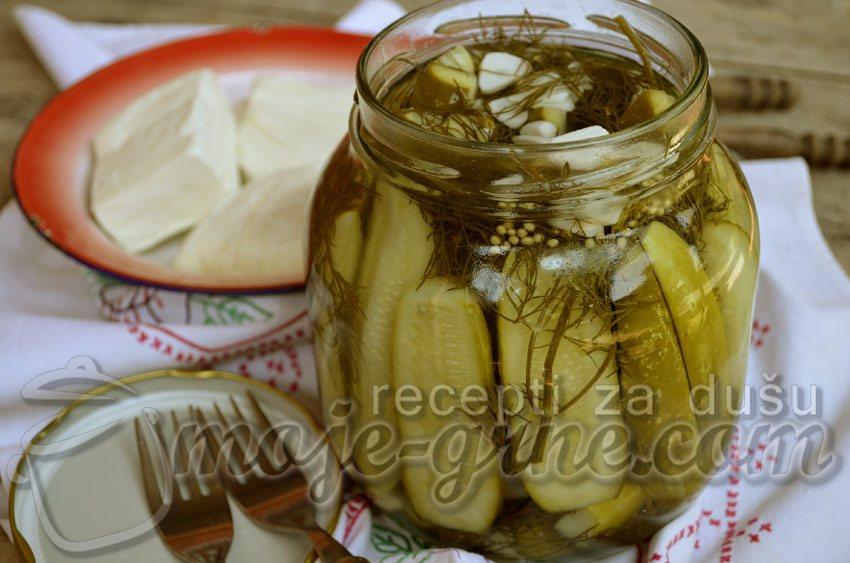 Kornišoni sa mirođijom - Crunchy Dill Pickles