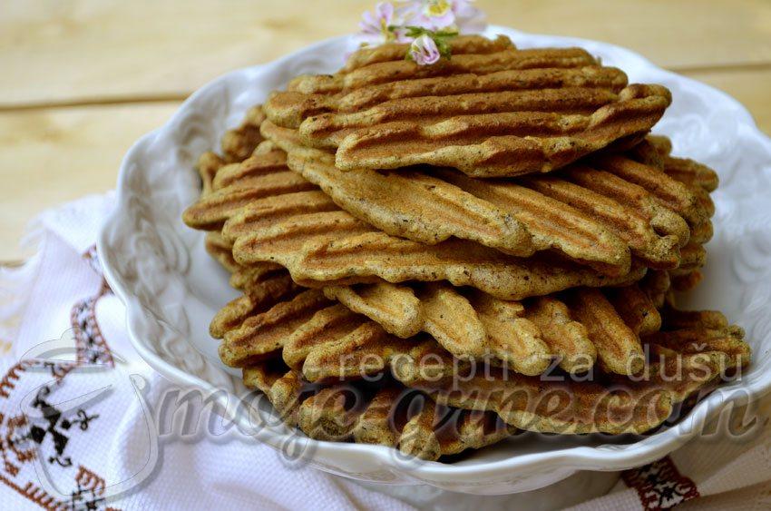 """Mekani """"hleb"""" od raženo - heljdinog brašna"""