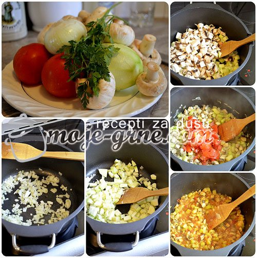 Testenina sa povrćem