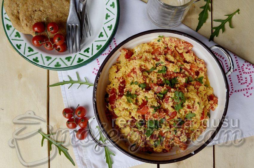 Brzi ručak sa paprikom i jajima