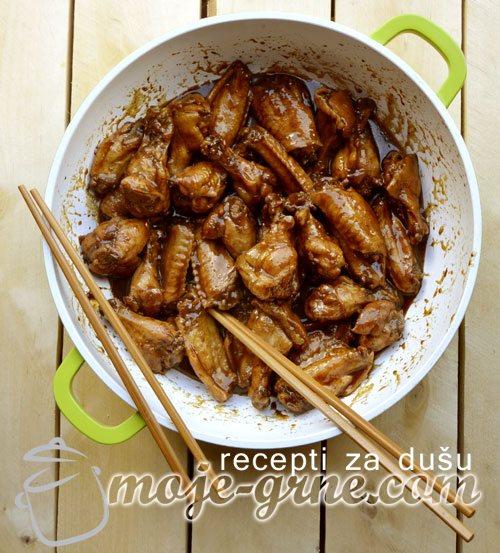 Pileća krilca na kineski način