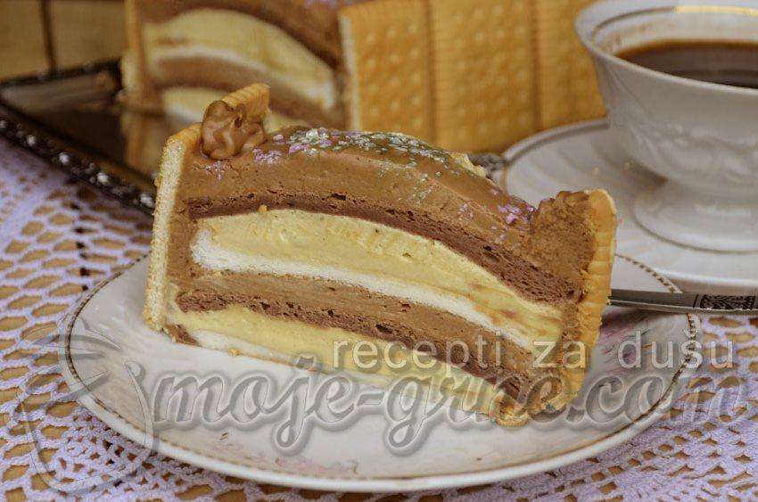 Bronhi šnit torta