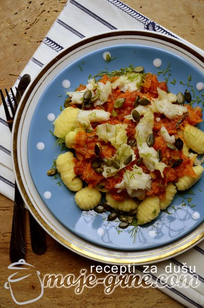 Njoke u sosu od paradajza