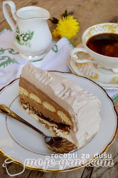 Kinder torta sa plazma keksom