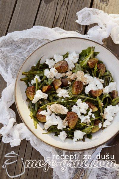 Salata sa smokvama i rukolom