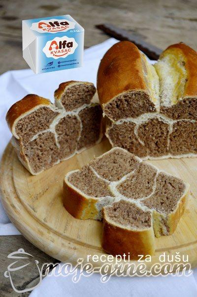 Žirafa hleb - Giraffe Bread