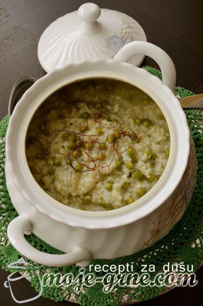 Varivo od graška i pirinča