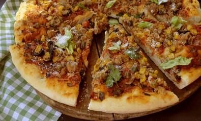 Ljuta pizza sa tunjevinom