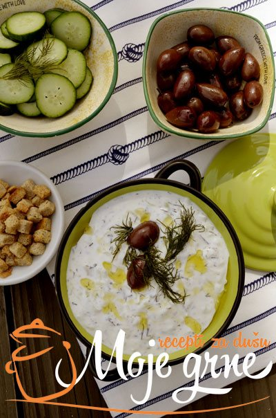 Grčki tzatziki sos